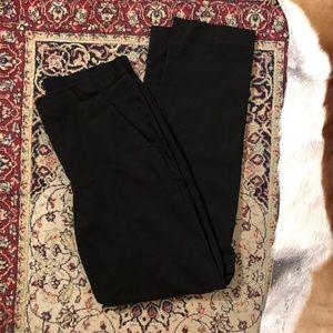 uniqlo black trousers